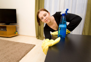 Domestic house cleaning